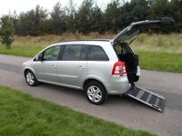 2012 62 Vauxhall Zafira 1.8 Low Miles WHEELCHAIR ACCESSIBLE DISABLED ACCESS WAV