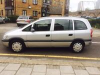 Vauxhall Zafira 2004 1.6 MPV Manual