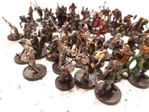 73 Dungeons & Dragons Miniatures LOT