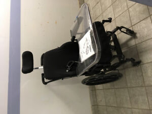 Invacare concept 45 wheelchair with prism seating