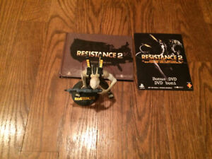 Resistance 2 figure with bonus book and dvd