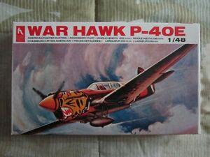 Plastic Model War Hawk P-40E 1/48 scale