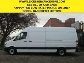 2014 14 MERCEDES-BENZ SPRINTER 313CDI LWB HIGH ROOF. 1 OWNER. FACELIFT MODEL DIE
