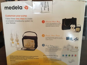 Barley Used Medela Double Breast Pump with New Sealed Tube