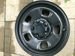 STEEL WHEELS / RAM 1500 TRUCK BLACK STEEL RAM RIMS ( ALL MOPAR)