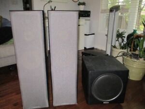 Sony speakers and Subwoofer