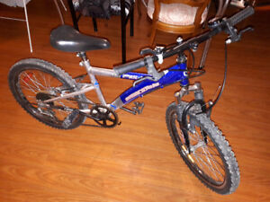 5 speed Supercycle Impulse-FS bike for kids about 6-8 years old