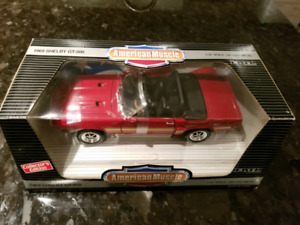 1:18 Diecast ERTL 1969 Shelby GT-500 Ford Mustang Convertible