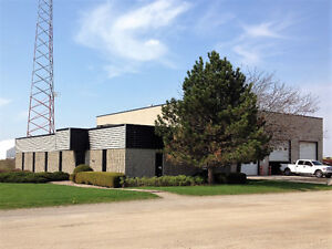Industrial building with 2.18 acres