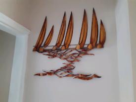 Metal Wall Art Boats On The Sea