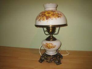 VINTAGE HURRICAN TABLE LAMP