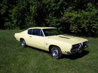 1968 Plymouth Barracuda Fastback - Originally Southern USA Car