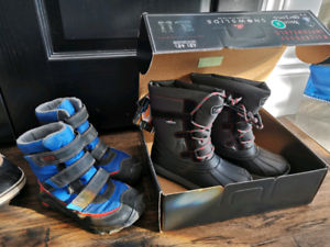 New in Box Boy's -40 Winter Boots+ Gently Used KEEN Winter Boots