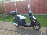49cc Moped and accessories