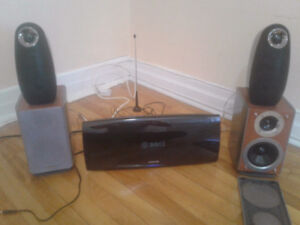 Samsung HT - A100 Bluetooth dvd home theater system ...