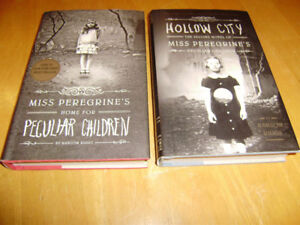 MISS PEREGRINE'S HOME FOR PECULIAR CHILDREN AND HOLLOW CITY BOOK