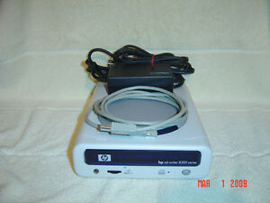 CD WRITER EXTERNAL HP 8200 SERIES