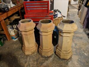 Antique clay Chimney pot