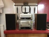 DENON DRR-M10 CASSETTE DECK AND UD-M5 CD PLAYER X3