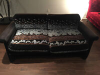 Couch - color black - brand Roche Bobois