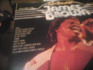 JAMES BROWN-THE Best of Volume 1 LP-LOOK