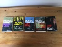 Michael Connelly novels ....a selection of 5