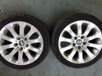 "Bmw e90 alloy wheels 17"""