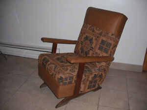 Chaise bercante / Rocking chair