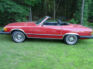 1978 mercedes SL450 good condition ( soft and hardtops )