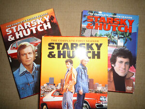 Starsky and Hutch seasons 1,2,4 classic TV on dvd