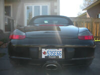 BLACK BEAUTY PORCSHE BOXSTER CONVERTIBLE 2003