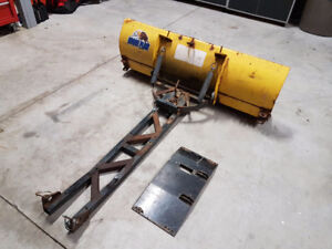 """48"""" Moose Plow with Mounting Plate"""