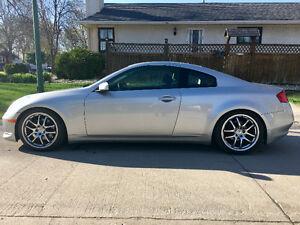 2005 Infiniti G35 6MT Sport - Safetied & modified!