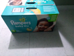 Size3 Pampers  Baby Dry Diapers