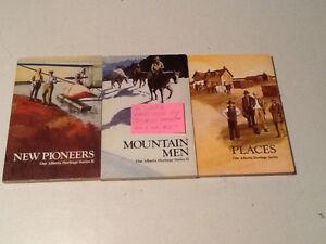 THREE PAPER BACK BOOKS. 742