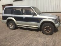 Mitsubishi pajero spares or repair