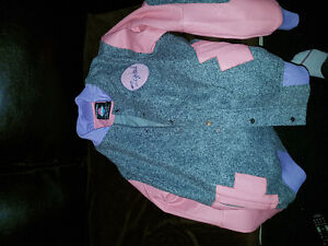 Pink Dolphin Coat. With Tag