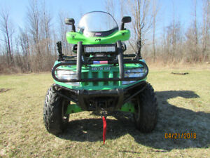 ONE MINT ARCTIC CAT EFI ATV, ,ITS SHOWROOM(AND A MONSTER)