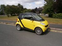 Smart ForTwo FOUR TWO PASSION 71BHP (black yellow) 2008