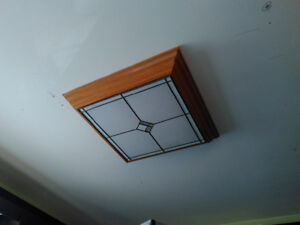 Ceiling Light Stained Glass