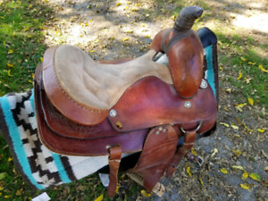 old  triangle saddle for sale
