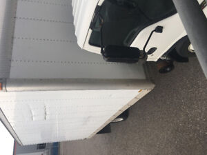 2005 Ford 3 ton truck with Box