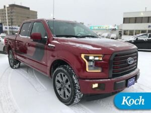 2017 Ford F-150 Lariat  Special Edition, BLIS, Twin Moonroof, Ad