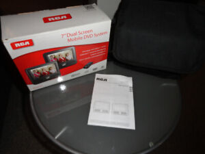 RCA 7 inch Dual Screen Mobile DVD system