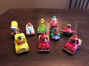 Vintage!  8 Toy Character Vehicles Kitchener / Waterloo Kitchener Area image 1