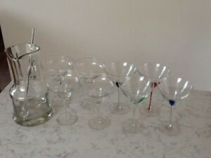 Glassware for Sale