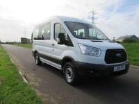 2015 15 FORD TRANSIT 2.2 350 BUS 12 STEATS WITH FORD OPTIONS DIESEL