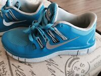 Nike Free womans running sneakers