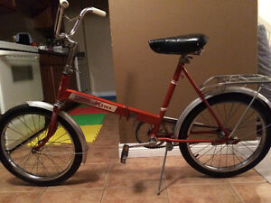 "Vintage ""Auto Mini"" Folding Bicycle"