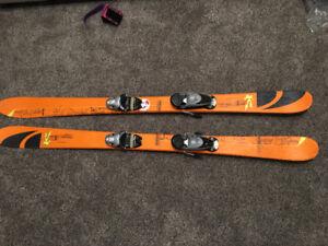 Solomon L137 Skis and Nordica ski boots for sale